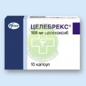 Аптека - ЦЕЛЕБРЕКС 100мг N10 капсулы  Pfizer Pharmaceuticals LLC